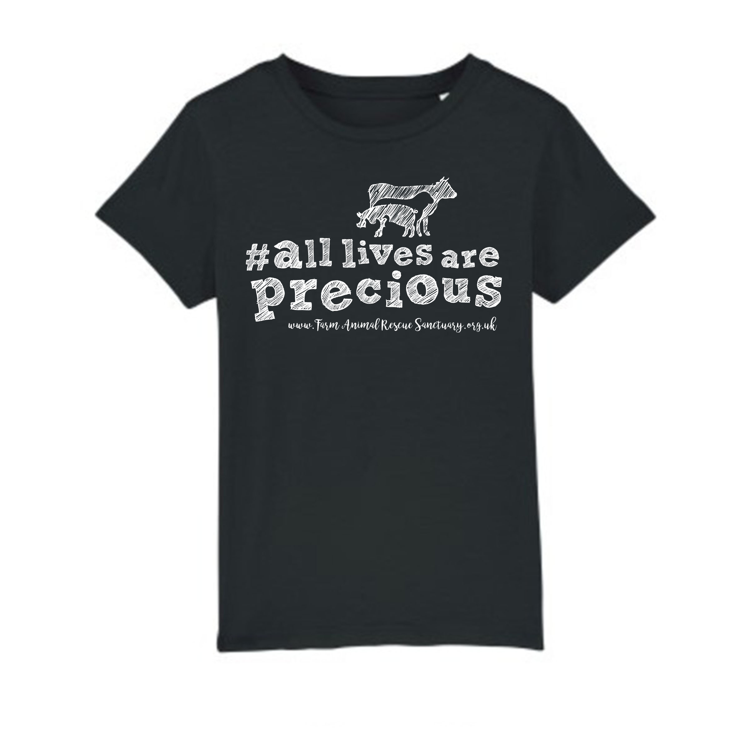 FARS Kids 'All lives are Precious' t-shirt front