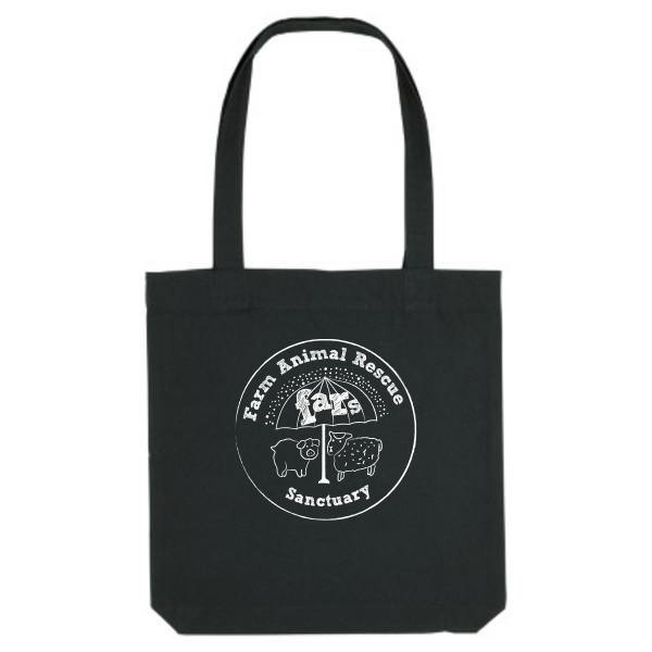 FARS Tote bag back