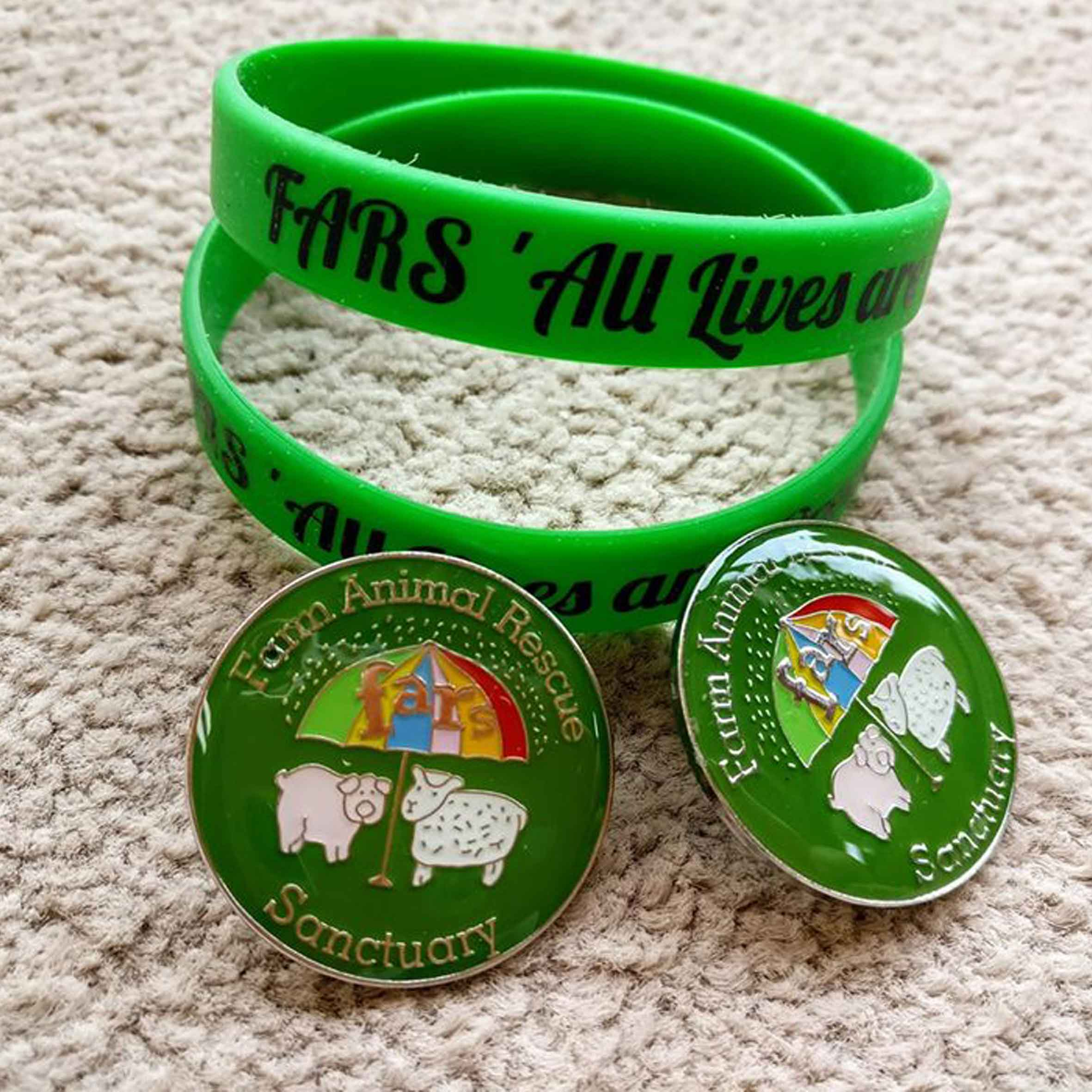 FARS Badges and Wristbands