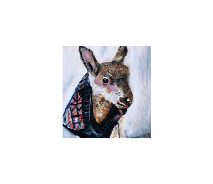 FARS Bambi painting