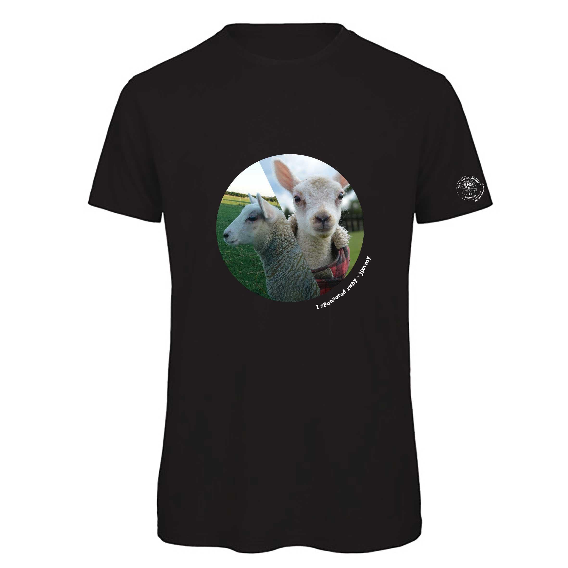 FARS Sponsorship tshirt with Ruby and Jimmy