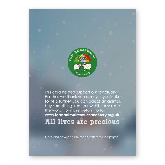 FARS Mistletoe Christmas Cards back